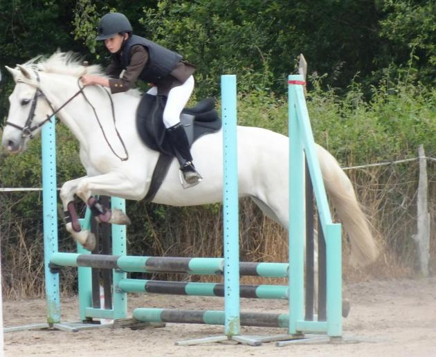 Alexy et Beauty 1er CSO poney 3 Mornay sur Allier 2016